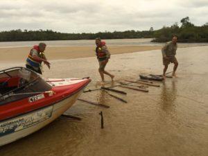 big push at the Jardine river mouth